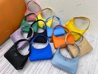 Yüksek Kalite Reedition 2000 Lüks Tasarımcı Crossbody Omuz Çantaları Duffle Naylon Deri Çanta Tote Ünlü Çanta Messenger Lady Cüzdan Hobo Çanta