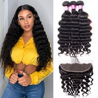 Alinybeauty Hair Brazilian Loose Deep Wave Vigin Hair Weave 3 Bundles 360g Unprocessed Loose Deep Wave Virgin Human Hair