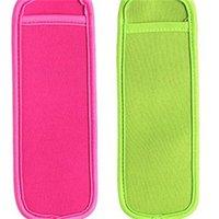Antifreezing Popsicle Bags Freezer Popsicle Holders Reusable Neoprene Insulation Ice Pop Sleeves Bag for Kids Summer Kitchen Tools 957 R2