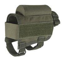 Tactical Cheek Rest Sniper Sniper Tiro Caça Acessórios Arma Arro Armário Militar Bullet Holster Nylon Holder Titular Cartuchos Cartuchos Bag Accessários