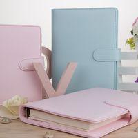 Couleur Couleur Manuel Loader-Feuille A6 Porte-notes portables Papeterie de bureau Simple et frais Fournitures scolaires