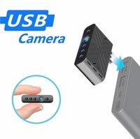 NEW Mini USB Camera AI Human Detection WiFi Remote Monitoring Night Vision HD Home Surveillance Portable Micro Plug Camcorder