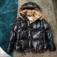 Womens Down Jacket Winter Parkas Cappotti Top Quality Women Winte Casual Feather Feather Outwear Addensare di alta qualità Tenere caldo cappotto corto signore cappotto con cappuccio