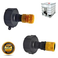 """Watering Equipments IBC Tank Drain Adapter 3 4"""" Hose Joint Coupling Connector For Balcony Garden Irrigation Quick"""