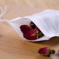 هايت الجودة المحمولة 100 قطعة 8x10 سنتيمتر القطن الشاش قابلة لإعادة الاستخدام أكياس الرباط التعبئة حمام الصابون الأعشاب تصفية أكياس الشاي 399 S2