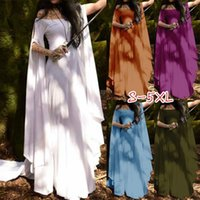 European Renaissance Medieval Dress Plus Carnival Halloween Costume for Women Festival Cosplay Party Dress Plus Size S-5XL