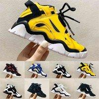 20snew الاطفال جدار منتصف أسود حذاء الليزر البرتقال المدربين كابانا أبيض كبير الأطفال الصبي بنات الكلاسيكية صورة السلة أحذية كرة السلة