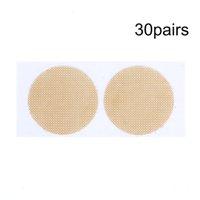 10Pairs / 30 paires Hommes Couvre-mamel de poitrine unique Couverture adhésif Tit Pad Femmes Hommes Gel Gel Nipper Couverture de lingerie Stickers