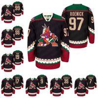99 Wayne Gretzky Arizona Coyote Black Hockey Jersey Retro Femmes Jeunes Phil Kessel Oliver Ekman Larson Max Domi Jeremy Roenick Shane DOAN CLAYTON KELLER JERSEYS