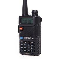 Baofeng BF-UV5R 아마추어 라디오 휴대용 워키 토키 Pofung UV-5R 5W VHF / UHF 듀얼 밴드 양방향 UV 5R CB