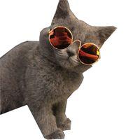 مضحك الحيوانات الأليفة القط نظارات نظارات حفلات في الهواء الطلق نظارات الكلب ملابس الشنوار تيدي كورجي جرو لوازم