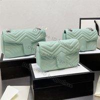 Красивый 2021 роскошный дизайнеры на ремневые сумки милые 3а качество Marmont Marmont Makeeart сумка сумка мессенджер женские сумки сумки Crossbody кошелек кошелек