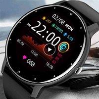 Designer Brand Brand Orologi Smart Men Touch Screen Sport Fitness IP67 Bluetooth impermeabile per Android iOS intelligente