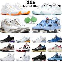 Nike Air Jordan 4 11 12 Jumpman 4 الرجال النساء 11 أحذية كرة السلة 12 حريق الأحمر اليوبيل 25 الذكرى الظلام كونكورد المحكمة الأرجواني المعدني رجل مدرب الرياضة أحذية رياضية