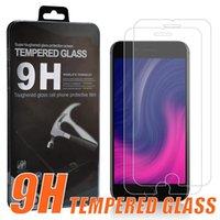Защитный экран 2PCS-упаковка для Samsung A20 A50 A70 A80 A80 A20E S10E MOTO G7 POWERZ Z4 LG Stylo 5 Google Pixel 3A XL протектор закаленного стекла с коробкой