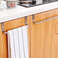 Newhooks Rails 1 ADET Kapı Havlusu Standı Raf Depolama Paslanmaz Çelik Banyo Mutfak Dolabı Evrensel Asılı Sundries Raf EWD7805