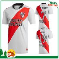 21 22 River Plaque Soccer Jerseys G.Martinez Quintero Pratto 2021 2022 Chemise de football Riverbed Hommes + Kit Kit