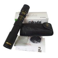 Binóculos Originais Nikula 10-30x25 Zoom Monocular Escopo Telescópio de Alta Qualidade Bolso Binoculo Caça Optical Prism Não tripé