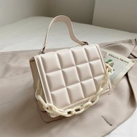 Evening Bags Luxury Designer Women's Bag 2021 Shoulder Female Purses And Handbags Leather Solid Color Chain Handbag For Women Satchels