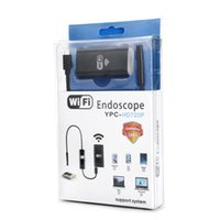 WiFi Mini Caméra d'inspection 8mm HD 720P 6 LED Etanche Smart WiFi Smart Endoscope Borecope pour Smartphone Tablet PC Windows
