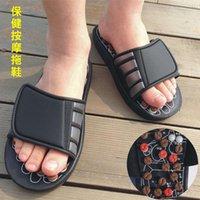 floprotary bagua ayak ayakkabı manyetik nokta masaj terlikleri reklam ekleyebilir