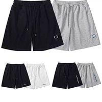 21ss hombres pantalones cortos letra bordado verano transpirable breve moda pantalones casuales buena calidad ropa de hombre alto estilo estilo corto pantalones cortos