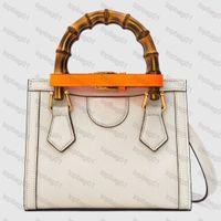 5A + Top Quality Diana Bambu CC Bolsas De Lona Com Caixa Original Designer Bolsa de Couro Genuino Bolsas De Couro Das Mulheres Bolsa Pocha