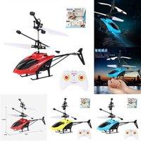 Yenilik Oyunları Mini Helikopter Çocuk RC Drone UFO Oyuncak Drone Elektrikli Uzaktan Kumanda RC Uçak Infraed El Algılama Flayaball Elektronik