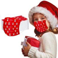 Party Masks 100pc Children'disposable Masque Halloween Cosplay Mascarillas 3ply Earhook Mondmasker Mascherine Mondkapjes