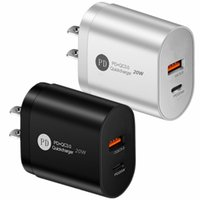 20W PD Fast Type C Wall Charger QC3.0 Fast Travel Chargers For Iphone 11 12 Samsung S20 S21 Tablet PC Android phon