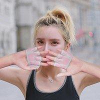 Cycling Gloves Eden Air Yoga Female Thin Anti-Slip Four Finger Professional Pilates Training Half Sports Horizontal Bar Fitness