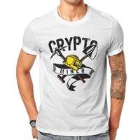 من المألوف نمط الرجال القمصان crypto أدوات المعادن أنيمي الجرافيك تيز قميص مضحك الكلاسيكية الإبداعية العصرية شخصية قمم