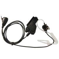 Walkie Talkie T Mic Covert Akustik Tüp Kulaklık Kulaklık Motorola HT1000 XTS5000 XTS2500 XTS1500 GP900 MTS2000 Radyolar