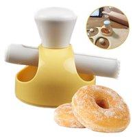 Creative DIY Donut Form Form Take Украшение инструментов Пластиковые Десерты Хлеб Резака Производителя Выпечки Поставки Кухонные инструменты