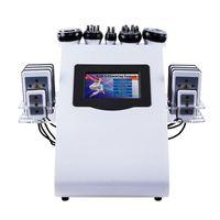 Portable 6 en 1 40k minceur Cavitation ultrasonique Liposuccion 8 Pads Lipolaser Aspirateur RF SHOW SHORY Sculptant Machine en vente