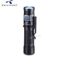 Editabe Skilhunt M200 À Prova D 'Água Magnética USB Carregando Luzes Tocha Cree XPL LED 1100LM Camping Lanterna Com Ímã Tai 210608
