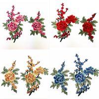 1 Paar Blume Spitze Ausschnitt Kragen Trim Floral Bestickte Handwerk Klassische Zubehör Kleidung Kleid Halle Applique Nähzubehör