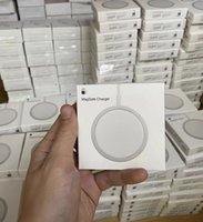 Chargeur officiel sans fil avec Magsafe 15w Charge rapide pour iPhone 12 / Pro / Pro / Pro / Mini Boîte de détail 1pcs pour iPhone 13