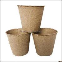 Planters Supplies Patio, Lawn Home & Garden8*8Cm Garden Plant Nursery Pp Pots Seedling Biodegradable Flower Tray Raising Cups 2000Pcs Ljjk20