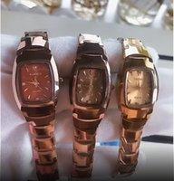 Taisige женская простая вольфрамовая сталь, маленький свежий повседневный кварцевый квадратный модный тренд женские часы