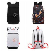 Men Shoulder Backpack Women Fashion Graffiti Crossbody Boys Cycling Sports Travel Versatile Student School Bag