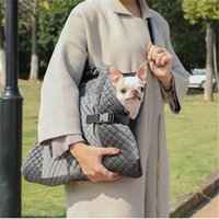 Carrier for Dogs Fashion Portable Dog Bag for Small Dogs Diamond Quilted Pet Carrier Blanket Soft Carrier Bag for Chihuahua York 210430