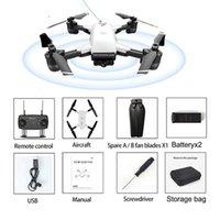 DRONES JD-20GPS 1080P / 720P HD Aerial Pografia Pieghevole Pieghevole Telecomando Drone Drone Accurata Borsa di immagazzinaggio lungo ritorno con batteria 2/3