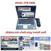 all data 10.53 auto repair soft-ware alldata mit soft-ware atsg 3in1 2TB HDD installed in laptop D630 4g RAM