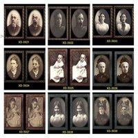 2021 Хэллоуин Party Party Party Bar 3D Thish Ghost Festival Изменить картинку Кадр Картинки Альбом Декоративные реквизиты Настенные Подвески Horror OWD10194