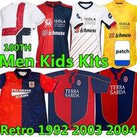 20 21 Cagliari Calcio Futebol Jerseys Centenary Kit João Pedro Edição limitada Nainggolan 2021 Maglie da Anniversary Football Shirt
