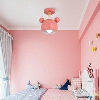 Ceiling Lights Nordic Modern Macaron Lamp Iron Art Corridor Indoor Lighting Children Bedroom Furniture Kitchen Home Living Decoration