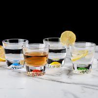 نظارات النبيذ 200-300 مل خلاق الثلج الزجاج الجبلية مع اللون الجليد ويسكي الفودكا ساك شوشو كوب بار عائلة مجموعة