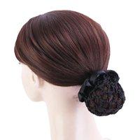 New Elastic Hair Snood Net Hair Accessories Women Girls Hair Bun Cover Snood Ballet For Dancer Dropshipping