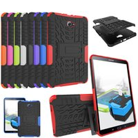 For Samsung GALAXY Tab A A6 case T580 T585 T580N T585N 10.1 inch Tablet TPU+PC Shockproof Stand Cover